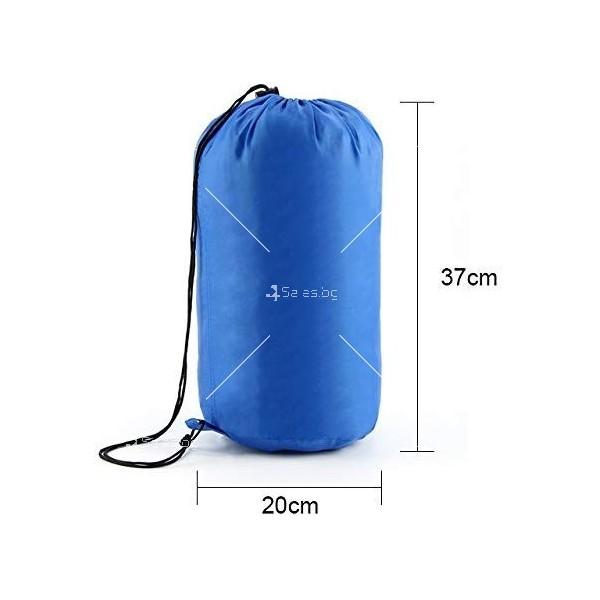 Зимен спален чувал BAO LONG HU WAI от водоустойчив полиестер с опция за стягане 2