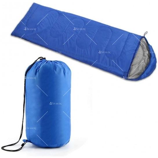 Зимен спален чувал BAO LONG HU WAI от водоустойчив полиестер с опция за стягане