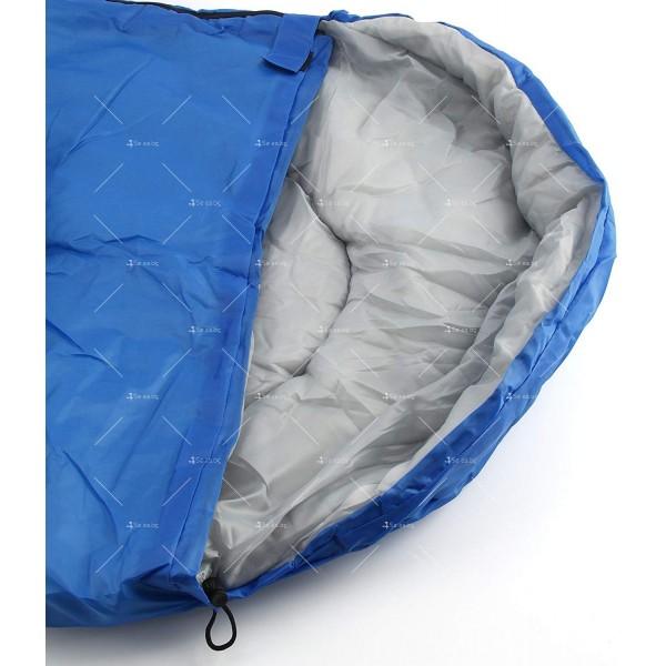 Зимен спален чувал BAO LONG HU WAI от водоустойчив полиестер с опция за стягане 6