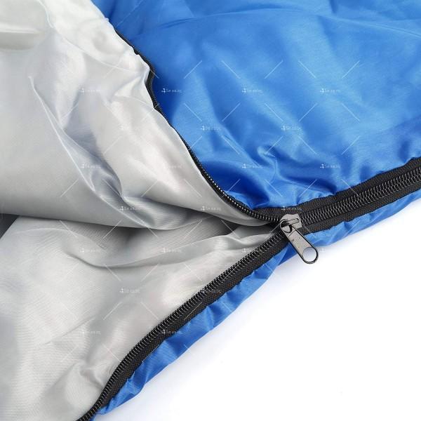 Зимен спален чувал BAO LONG HU WAI от водоустойчив полиестер с опция за стягане 9