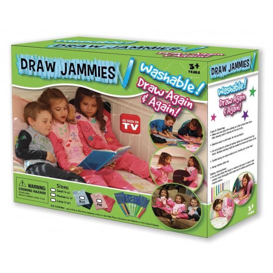Магическият комплект за рисуване Draw Jammies TV214