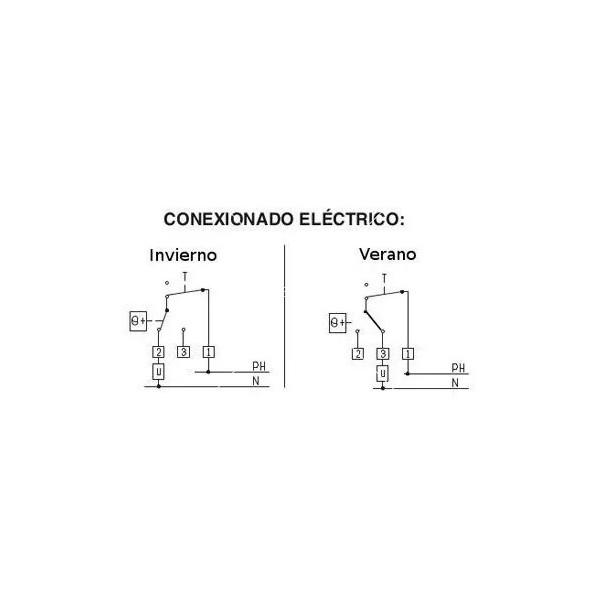 Механичен термостат с датчик за температура за електрическо ИЧ отопление 5