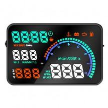 Проектор ХУД за предното стъкло на автомобил Heads up display-HUD1