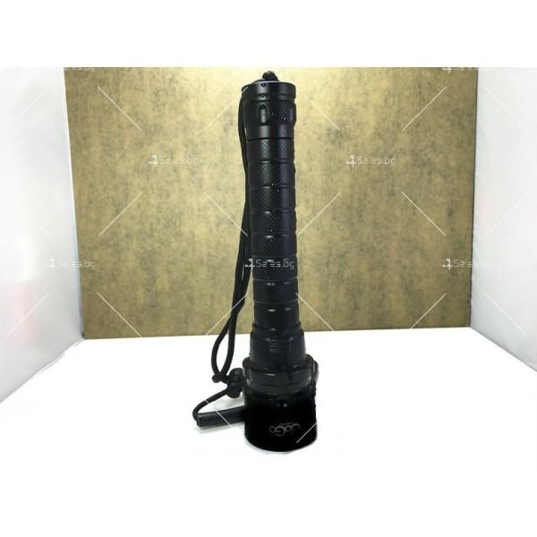 Мощно водоустойчиво фенерче с 3 LED крушки FL42 2