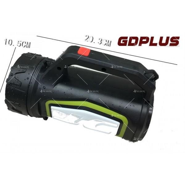 Мощен преносим ръчен фенер с няколко вида светлинни сигнали FL43 7