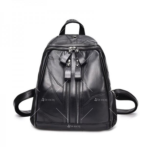 Компактна дамска раница, подарък дамска чанта и портмоне BAG82 2