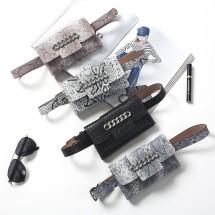 Стилна мини чанта за кръст с изчистен дизайн и правоъгълна форма BAG100