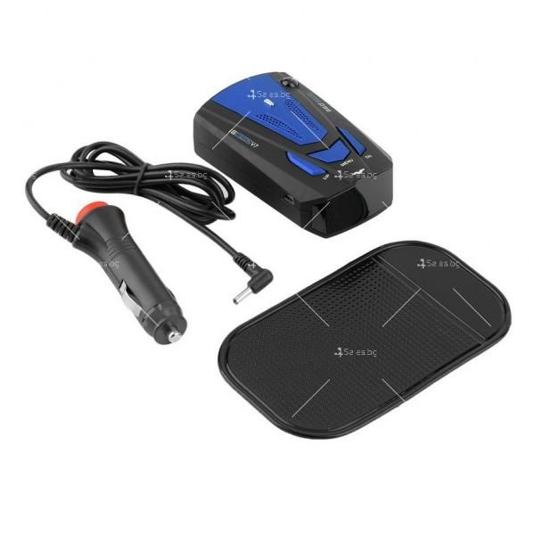 Автомобилен лазерен антирадар V7 Band 16 AC87 2