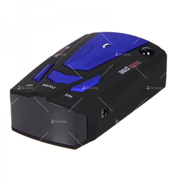 Автомобилен лазерен антирадар V7 Band 16 AC87 13
