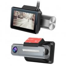 Компактна HD 3G камера за автомобил за предно виждане + задна камера AC89