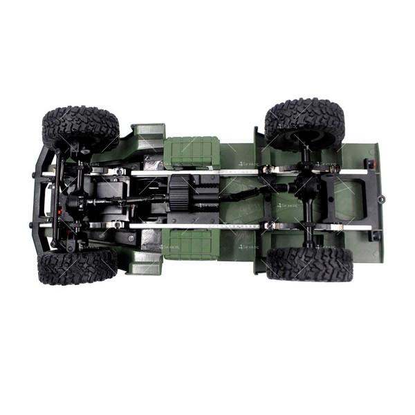 Детска количка тип американски военен камион с дистанционно управление TOY CAR-4 3