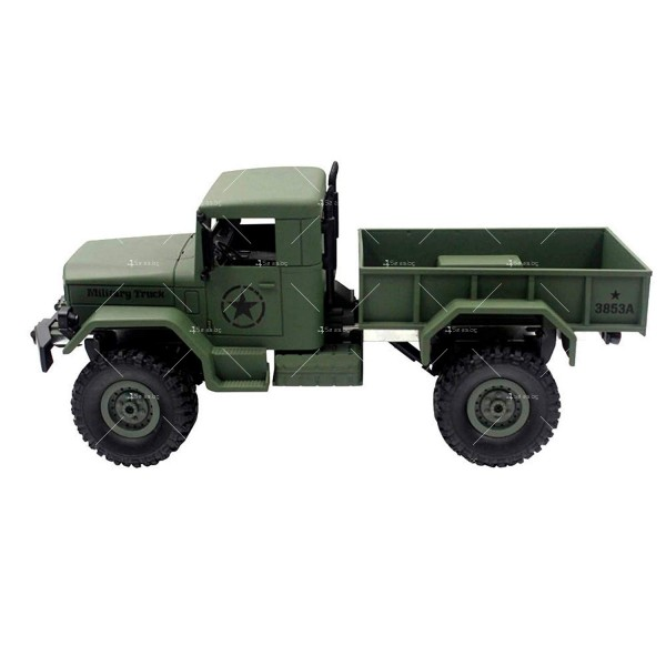 Детска количка тип американски военен камион с дистанционно управление TOY CAR-4 4