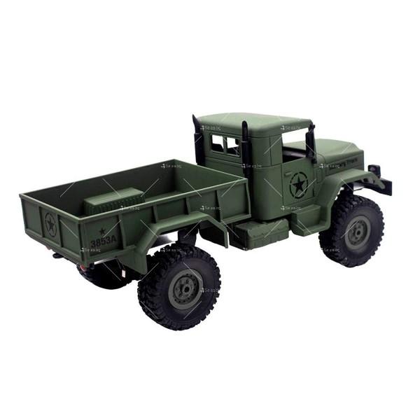 Детска количка тип американски военен камион с дистанционно управление TOY CAR-4 7