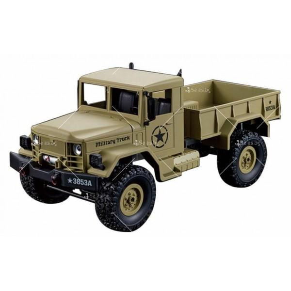Детска количка тип американски военен камион с дистанционно управление TOY CAR-4 9