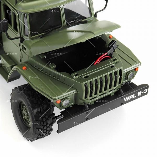 Детска количка тип руски военен камион модел NaughtyDragon с дистанционно TOYCAR8 6