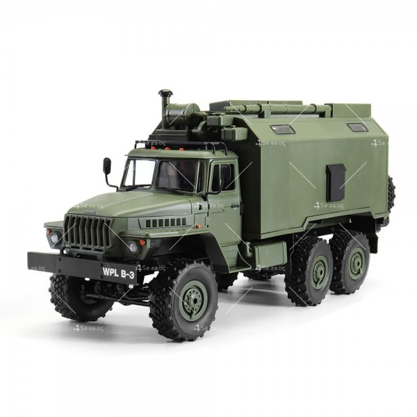 Детска количка тип руски военен камион модел NaughtyDragon с дистанционно TOYCAR8
