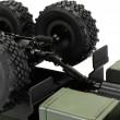 Детска количка тип руски военен камион модел NaughtyDragon с дистанционно TOYCAR8 8