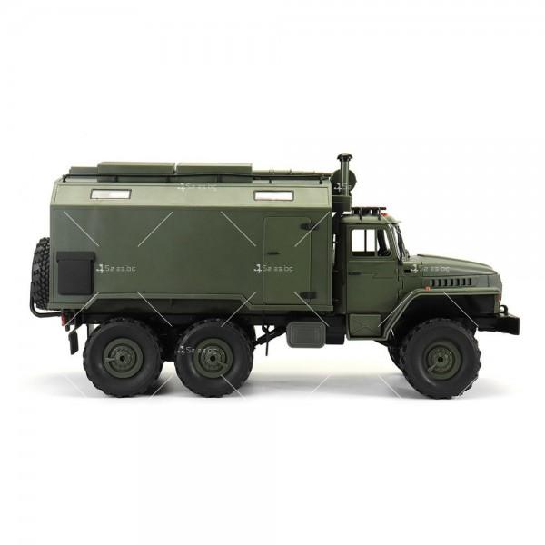 Детска количка тип руски военен камион модел NaughtyDragon с дистанционно TOYCAR8 9