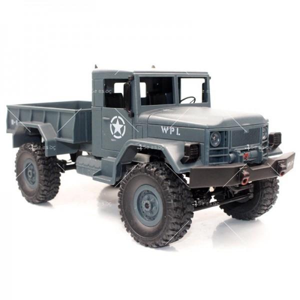 Количка с дистанционно управление американски военен камион с каросерия TOY CAR-9