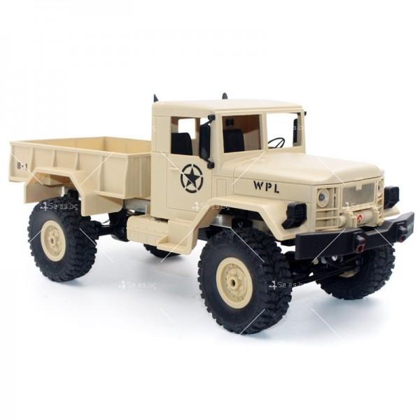 Количка с дистанционно управление американски военен камион с каросерия TOY CAR-9 2
