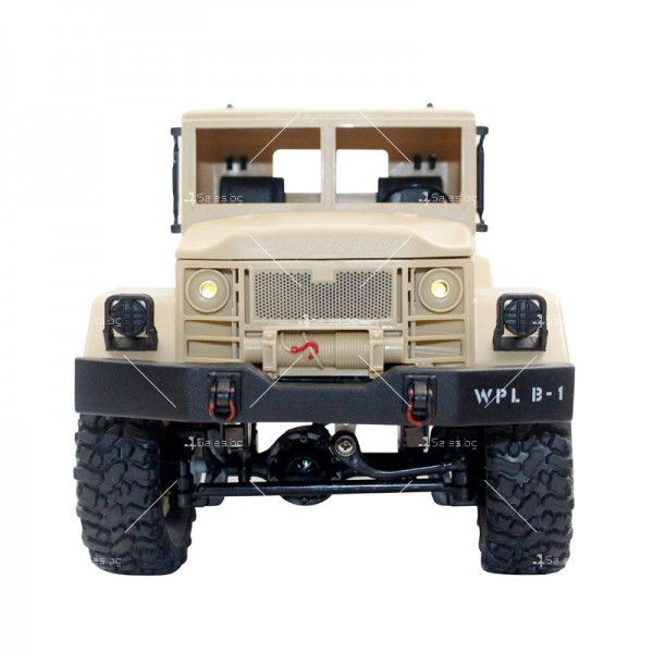 Количка с дистанционно управление американски военен камион с каросерия TOY CAR-9 3