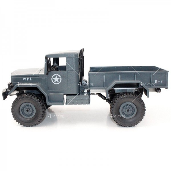 Количка с дистанционно управление американски военен камион с каросерия TOY CAR-9 4