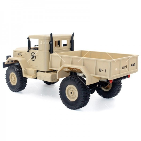 Количка с дистанционно управление американски военен камион с каросерия TOY CAR-9 5