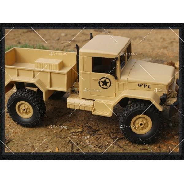 Количка с дистанционно управление американски военен камион с каросерия TOY CAR-9 11