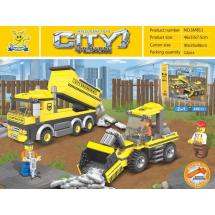Детски конструктор CITY Engineering Team – 446 части