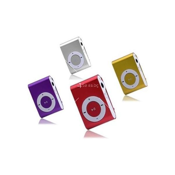 Мини МР3 плеър с елегантен дизайн и слушалки 6