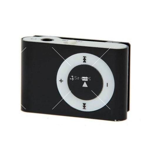 Мини МР3 плеър с елегантен дизайн и слушалки