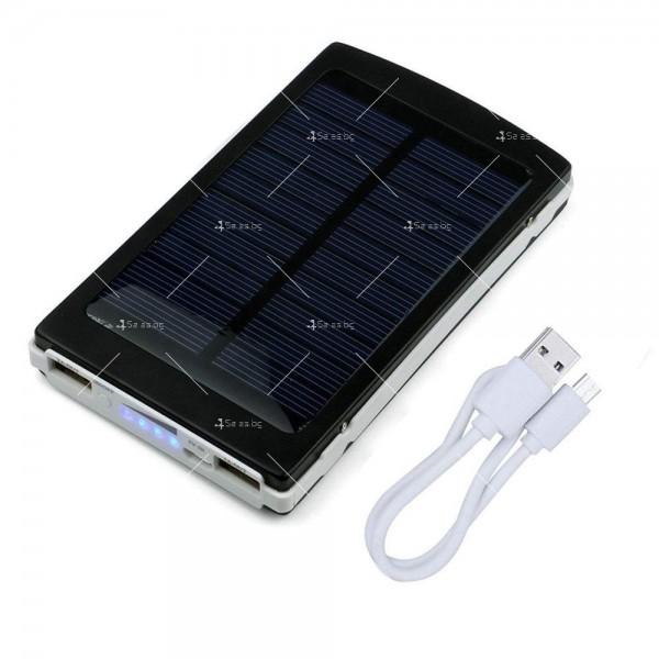 Соларна външна батерия с осветление 50000 mAh TV192 6
