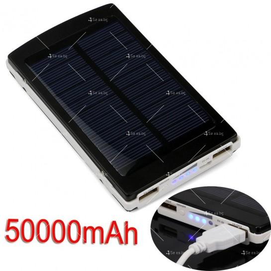 Соларна външна батерия с осветление 50000 mAh TV192