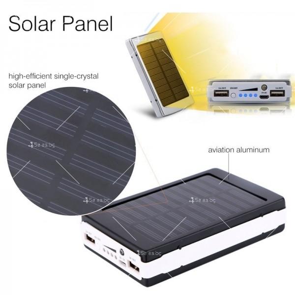 Соларна външна батерия с осветление 50000 mAh TV192 9