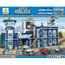 Детски конструктор Police Station Бягство от затвора Prison Break