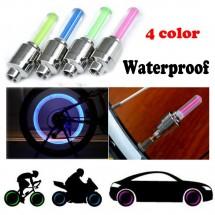 Светещи капачки за автомобилни гуми, велосипед или мотор с LED светлина