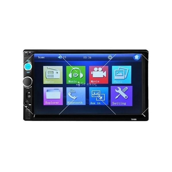 Стерео MP5 player 7 инча touchscreen и мултимедия за кола с GPS навигация 7010B 5