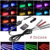 LED ленти за вътрешно осветление на кола Car atmosphere light 36 pcs