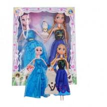 Комплект кукли Елза и Ана от замръзналото кралство WJ32