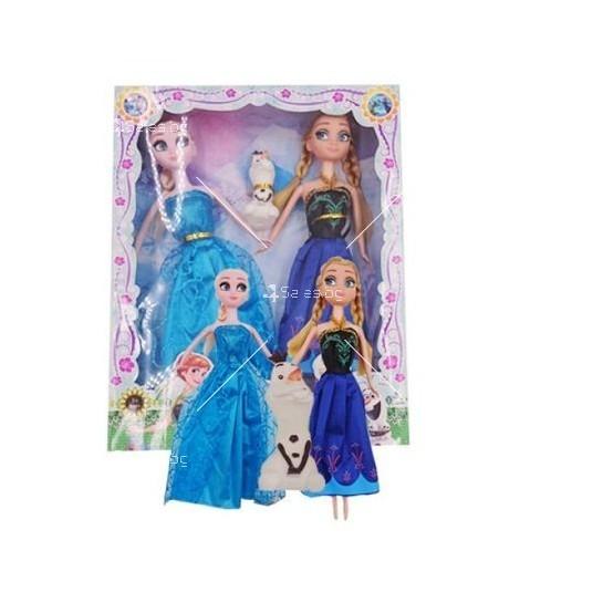 Комплект кукли Елза и Ана от замръзналото кралство