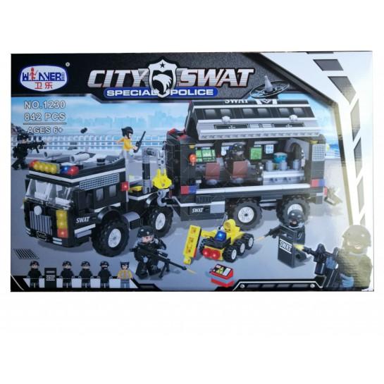Детски конструктор Police Station, SWAT