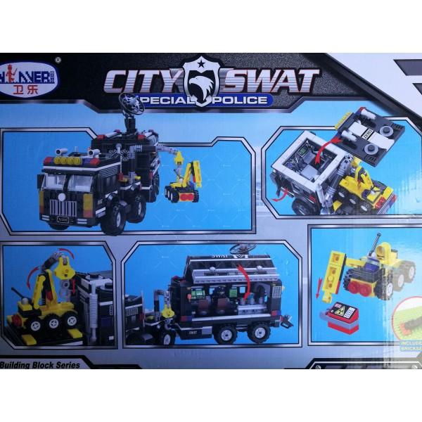 Детски конструктор Police Station, SWAT 2