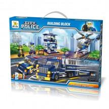 Детски конструктор Градска полиция – 400 части