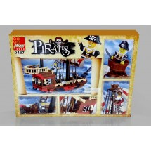Детски конструктор Пиратски кораб 0487