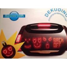 Светодиоден знак за автомобил DEKUDINO
