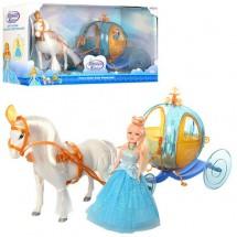 Детска кукла Ледена принцеса