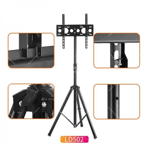 Висока ТВ стойка за екрани 26-55 инча с ротация от 360 градуса TV STOIK-16 2