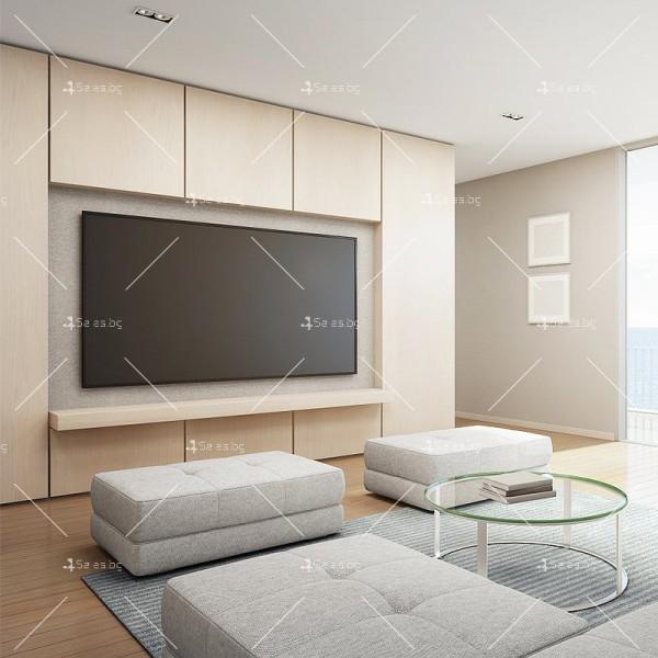 Универсална ТВ стойка за стена за екрани с 42-60 инча TV STOIK-17 2