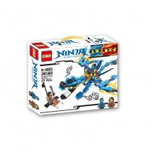 Детски конструктор Ninja – боен самолет ZM.1802