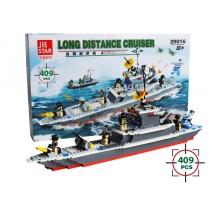 Детски конструктор SWAT – боен кораб за дълги разстояния 29016